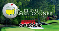 Putting at Amen Corner